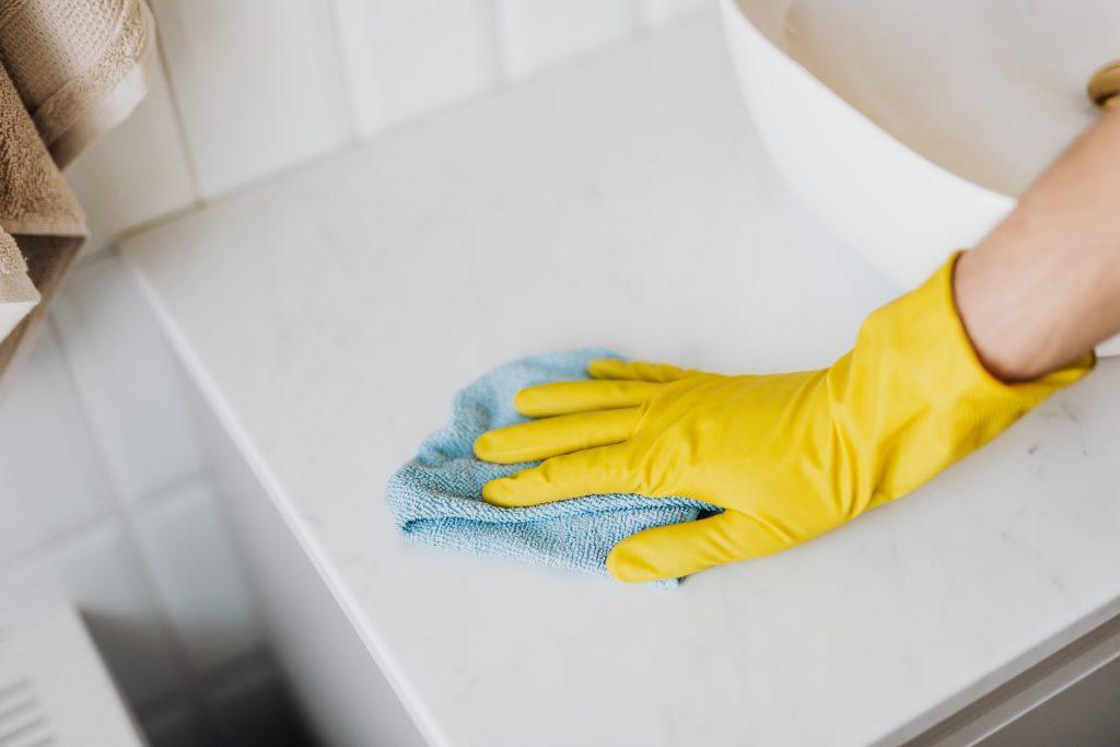 bathroom renovation clean