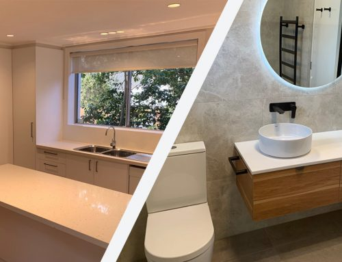 What's the difference between a bathroom and kitchen renovation?