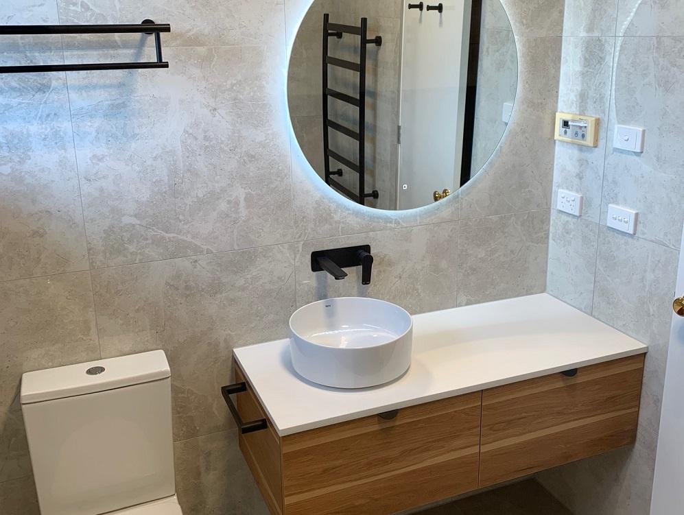 Richmond bathroom feature